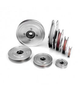 Drahtleitrollen Aluminium-Keramik